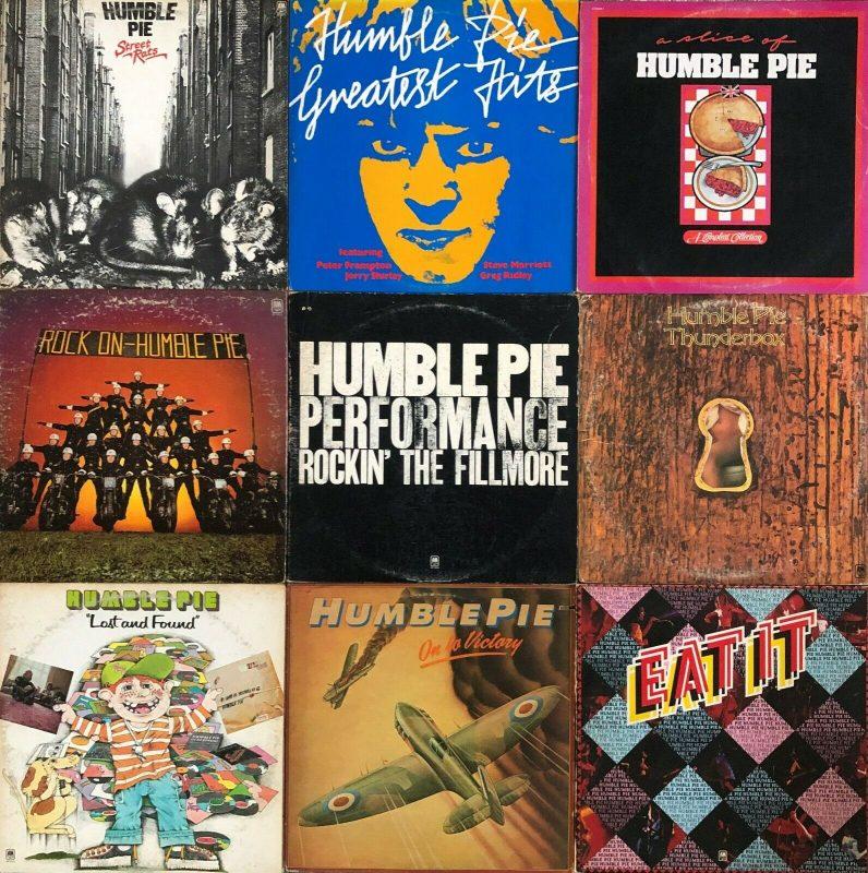 Humble Pie Vinyl Record Lps For Sale