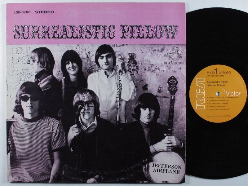 Jefferson Airplane Vinyl Record Lps For Sale