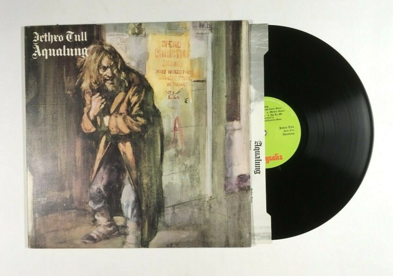 Jethro Tull Vinyl Record Lps For Sale