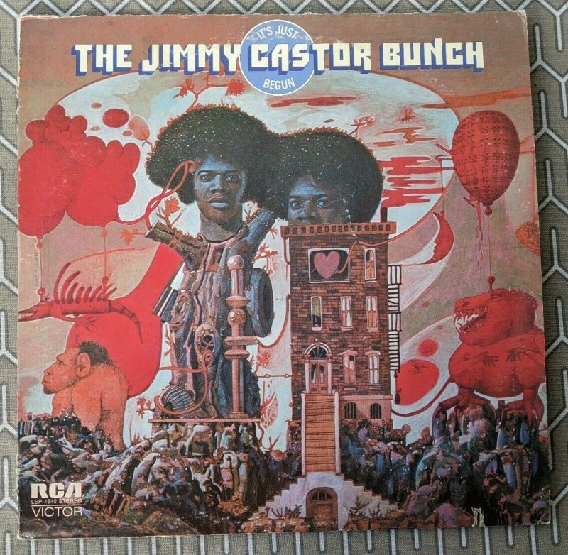 Jimmy Castor Bunch Vinyl Record Lps For Sale