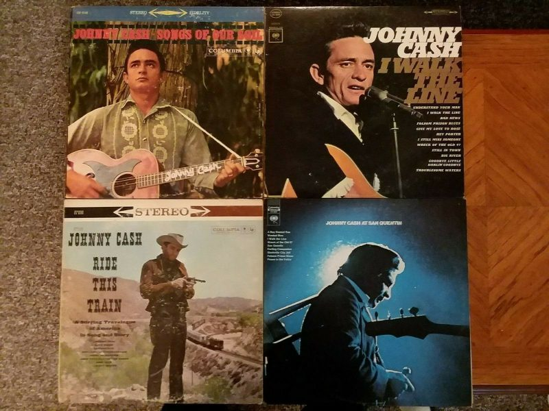 Johnny Cash Vinyl Record Lps For Sale