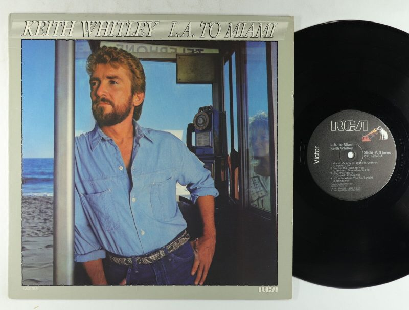 Keith Whitley Vinyl Record Lps For Sale