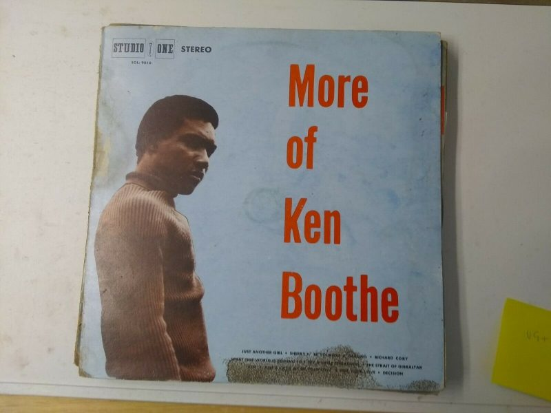 Ken Boothe Vinyl Records Lps For Sale