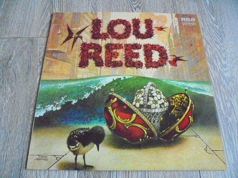 Lou Reed Vinyl Record Lps For Sale