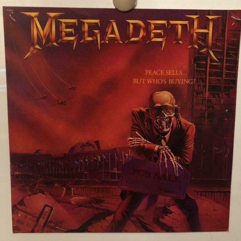Megadeath Vinyl Record Lps For Sale