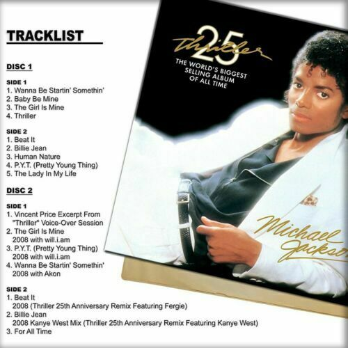Michael Jackson Vinyl Record Lps For Sale