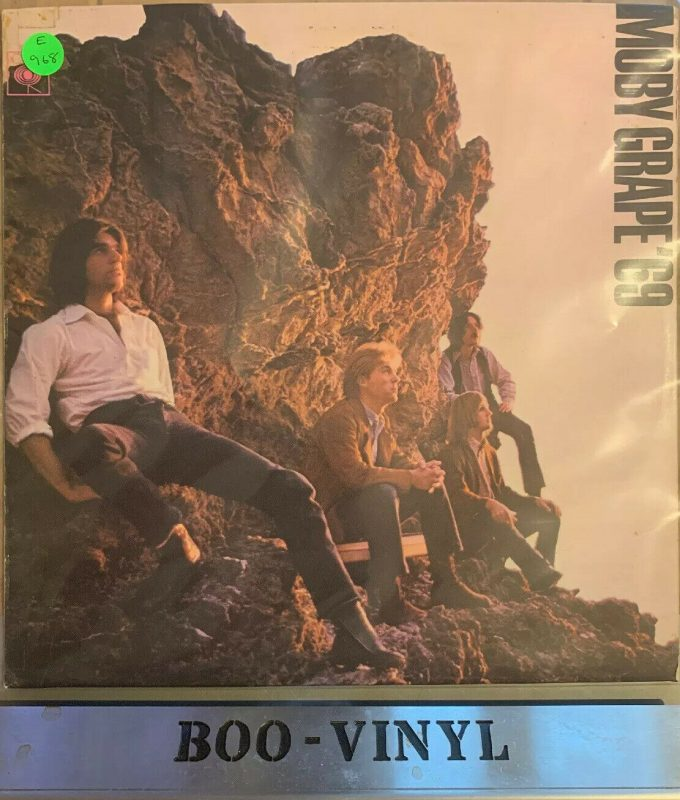 Moby Grape Vinyl Record Lps For Sale