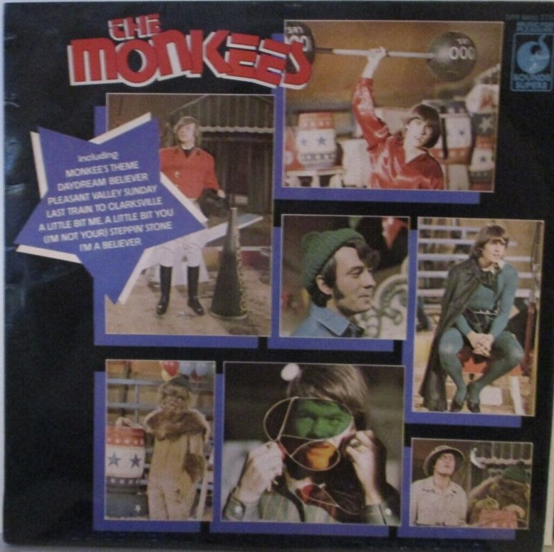 Monkees Vinyl Record Lps For Sale