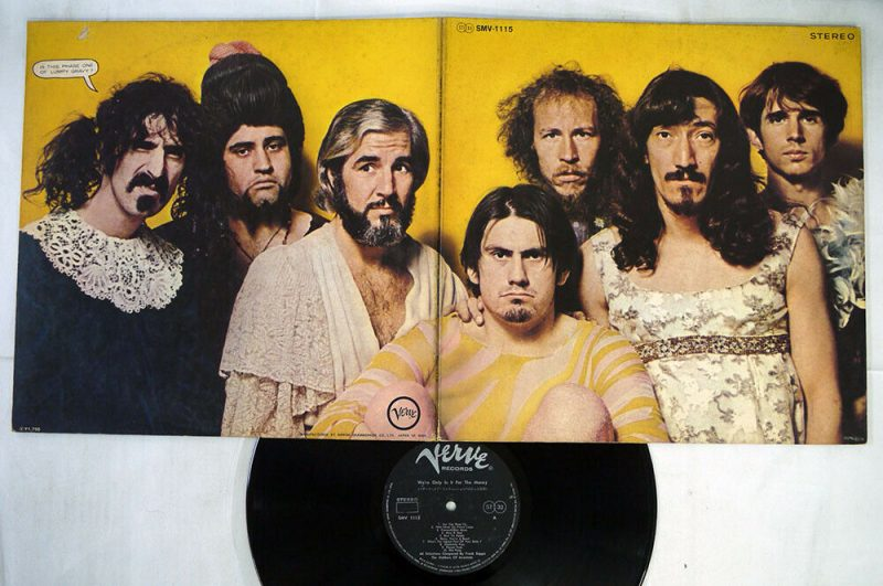 Mothers Of Invention Vinyl Record Lps For Sale