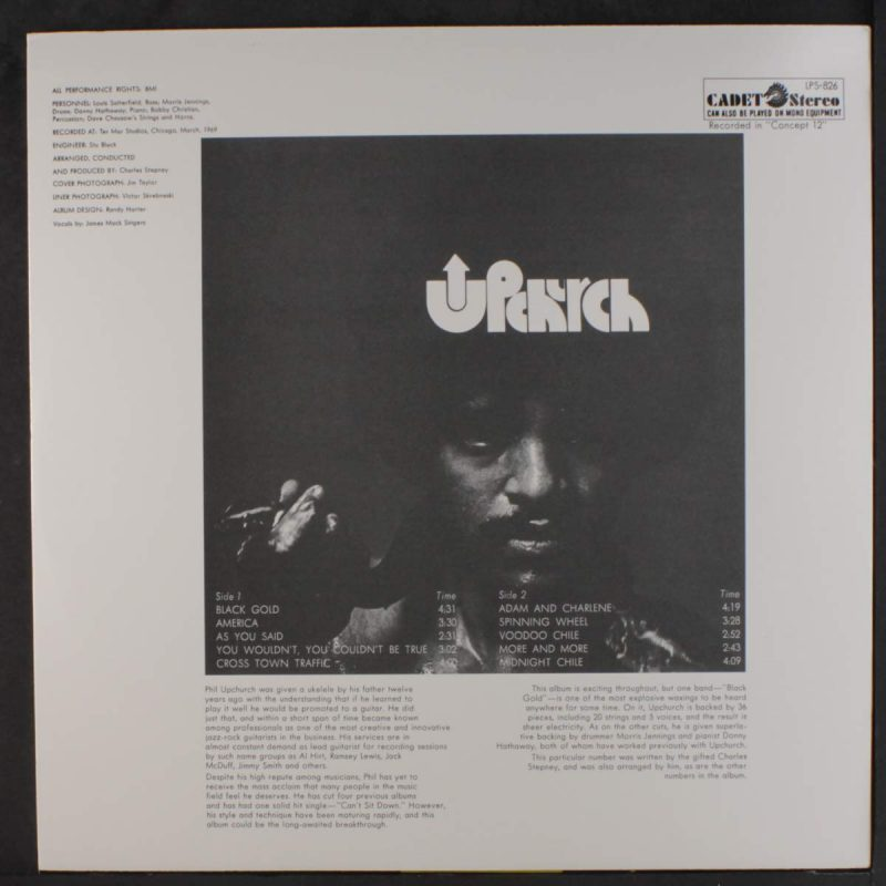 Phil Upchurch Vinyl Records Lps For Sale