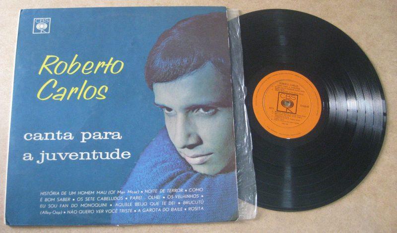 Roberto Carlos Vinyl Record Lps For Sale