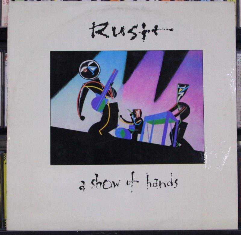 Rush Vinyl Record Lps For Sale
