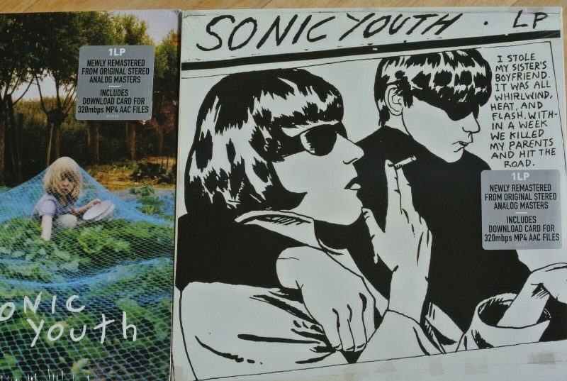 Sonic Youth Vinyl Record Lps For Sale