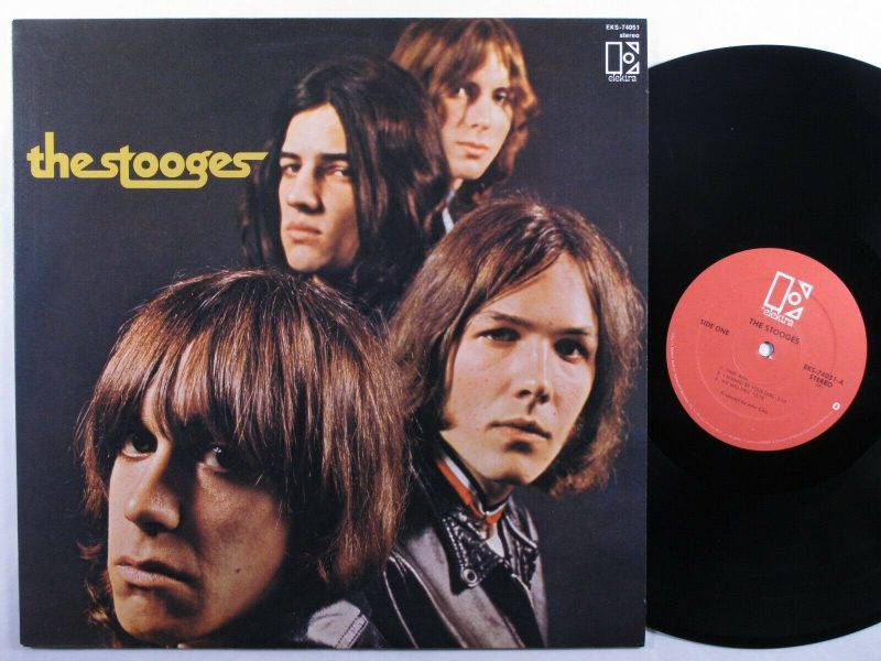 Stooges Vinyl Record Lps For Sale