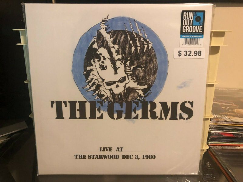 The Germs Vinyl Record Lps For Sale