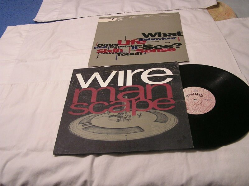 Wire Vinyl Record Lps For Sale