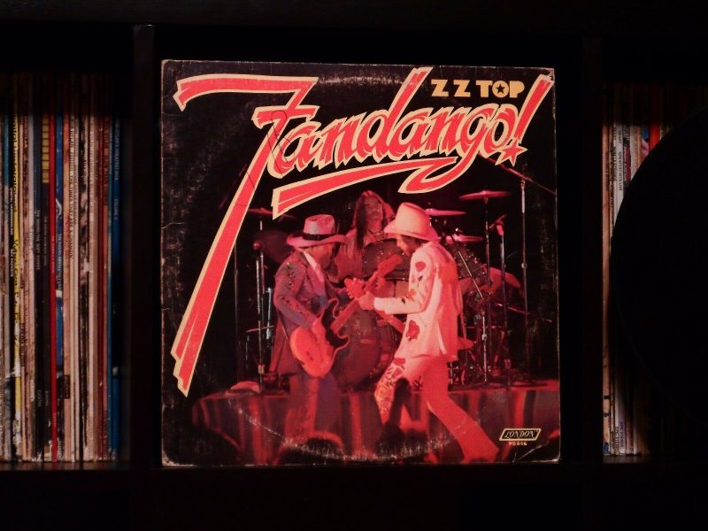 ZZ Top Vinyl Record Lps For Sale
