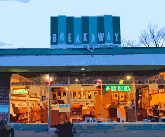 Breakaway Records Austin