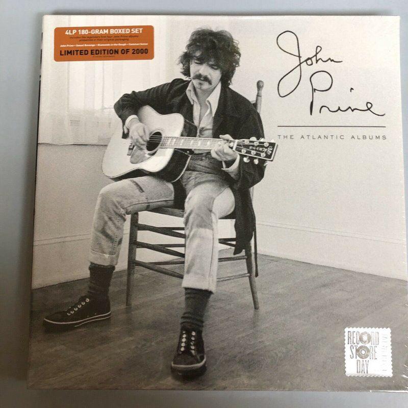 John Prine Atlantic Albums Rsd 2020